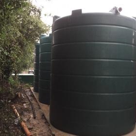 Water Tank - 20,000l capacity.